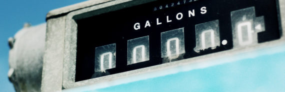 gallon count on gas pump
