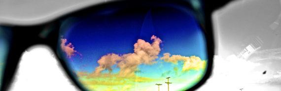 glasses put color on b/w world