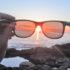 sunset through sunglasses