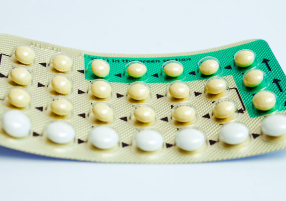 packet of birth control pills