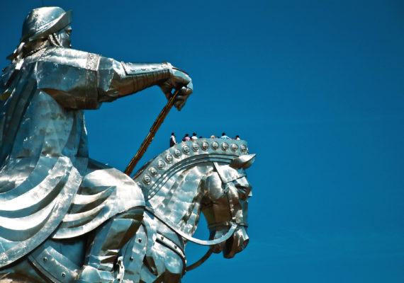 Genghis Khan statue