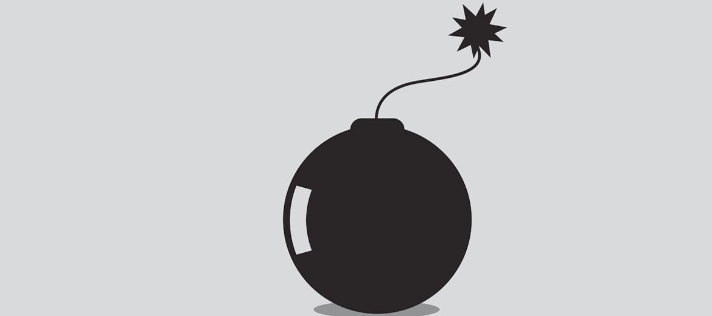 """""""buckybomb"""" illustration"""