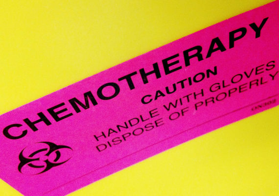 chemotherapy warning label