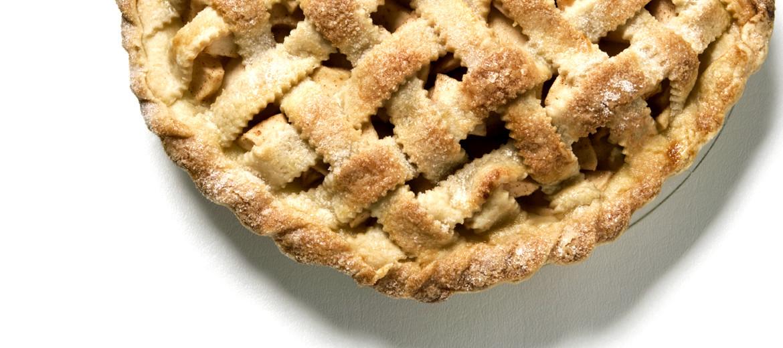 pie with lattice crust - comfort food