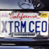 XTRM CEO License plate