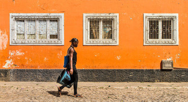 woman in Cabo Verde
