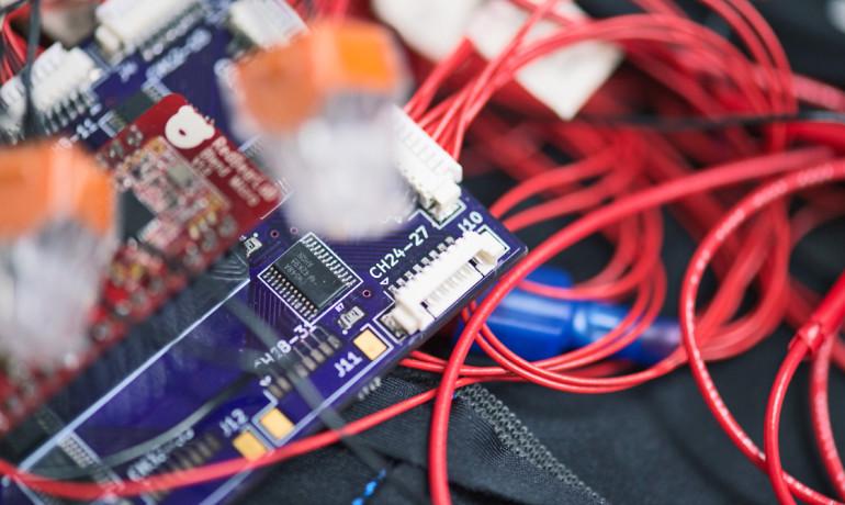 circuitry for haptic vest