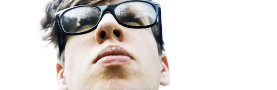 man's chin