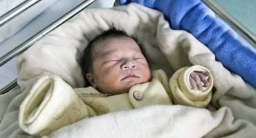 chinese newborn baby