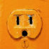 orange wall outlet
