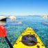 kayak on Lake Tahoe