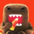 domo eats candy corn