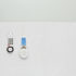 Hospital bed with telephone and remote control