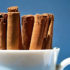 cinnamon sticks in mug