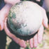 filter image of globe in hands