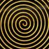 gold spiral - nano-spiral