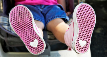 toddler shoes with hearts on soles
