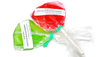 marijuana edibles - lollipops