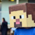 Minecraft head costume
