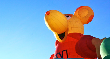 giant rodent balloon