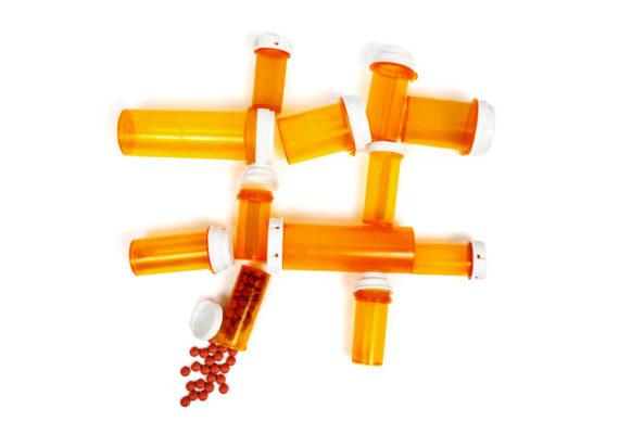 pill bottle hashtag