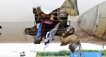 Fly-Bag test damage