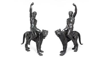 two bronzes