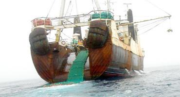 bottom trawler fishing ship