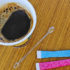 coffee and sugar packets