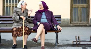 elderly women - life expectancy image