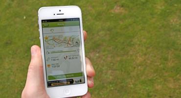 fitness app on iPhone
