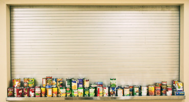food bank window