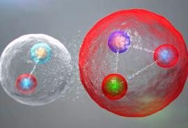 pentaquarks illustration