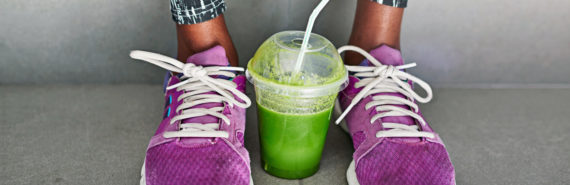 sneakers and green juice
