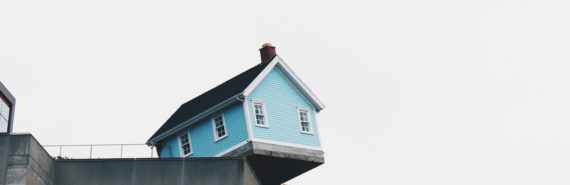 house on brink of falling