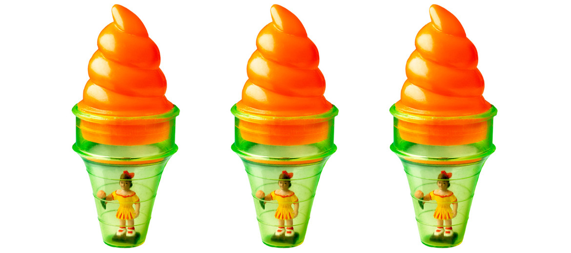 toy ice cream cones