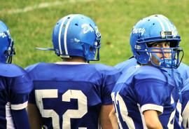 3 high school football players