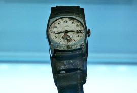 Hiroshima watch stopped by bombing