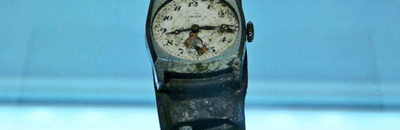 Hiroshima watch stopped by bombing