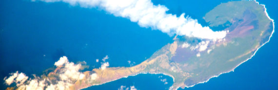 Pagan Island volcano