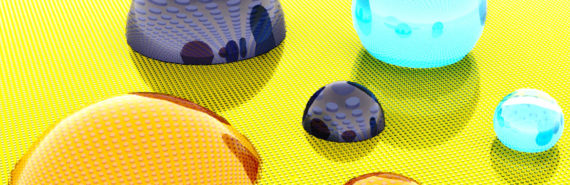 A new engineered surface can repel liquids, including Wenzel droplets that are normally pinned to the surface. (Credit: Xianming Dai, Chujun Zeng and Tak-Sing Wong/Penn State)