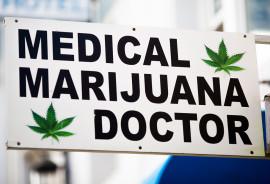 Marijuana doctor sign