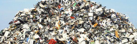 pile of metal waste