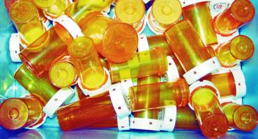 empty pill bottles