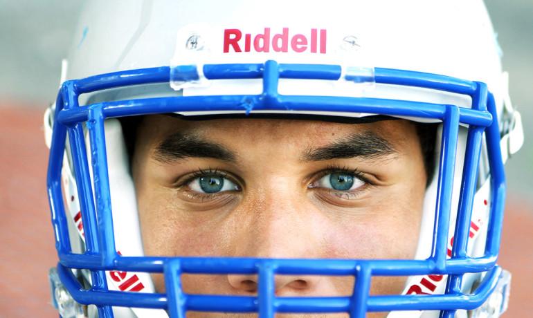 football player portrait