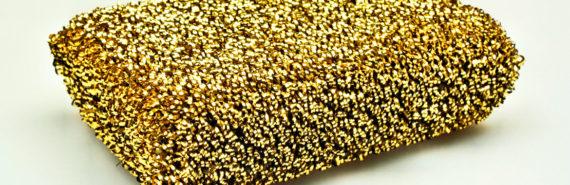 gold sponge