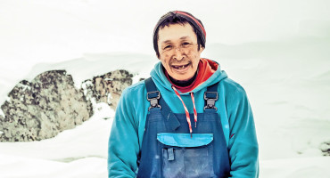 Inuit man in Greenland