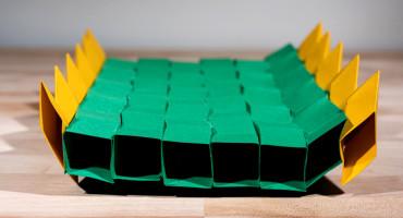 origami bridge