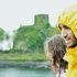 couple in the rain in Scotland