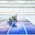 men install solar panels